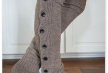 Cosy leg warmers