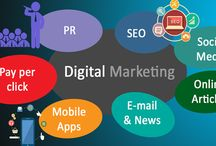 Digital Marketing / Digital marketing  includes internet marketing techniques, such as SEO, SEM, SMO(SMM)and Email marketing. It is also extends to non internet channels that provide the digital media