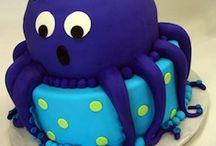 Octopus baby shower