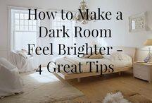 Apartment Ideas / Bedroom - byte blue Kitchen - shell white Backsplash-shiitake Living - lattice (sw)