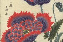 Japanese prints nature