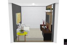 Consultoria e projeto 3D por Graziela Lara