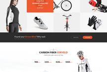 Webdesign / Inspiratiepagina voor onze designs :) als je wat vets ziet PINNENNNNN