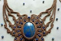 Macramé bijoux