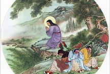 Yesus in chinese painting