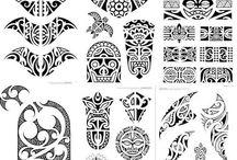 Tatuajes tribales hawaianos