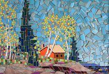 kağıt mozaik
