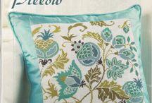 Pillow cross stitch