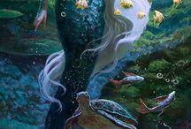 Merfolk and fairies