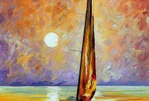 Pintura veleiros