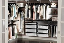 Organization for my closets / by Stephanie Drakeley
