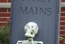 Halloween tombstone ideas / by Kathy Clark