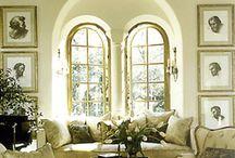 living rooms / by Joan Capra