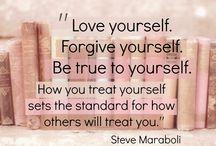 To love myself.