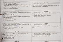 Homeschool Schedules/Planning