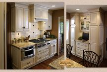 Clean Warmth - Showplace Cabinets / Hamilton, Covington, Summit, and Pendleton Door Styles