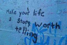 Inspiration for Life / Uplifting sayings and quotations that serve as inspiration for life