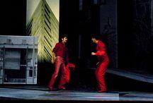 Our projects ///  Scenic design for Cavalleria Rusticana / Scenic design for the play Cavalleria Rusticana by Giampiero Borgia at Teatro Stabile in Catania, Italy (2011) Photo: Filippo Sinopoli
