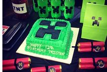 Minecraft Party / Kids party / by Rebecca Evans