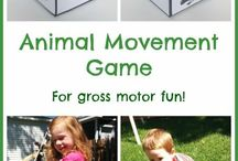 Gross Motor Skills Activities