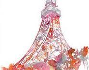 TOKYO TOWER OR EIFFEL FRANCE