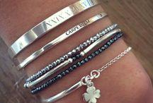 bracelets argents fins