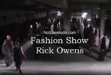 Rick Owens uomo / Rick Owens collezione e catalogo primavera estate e autunno inverno abiti abbigliamento accessori scarpe borse sfilata uomo.
