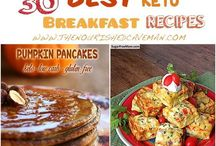 Ketogenic Breakfast Ideas / Your favourite breakfast meals given a keto twist so you can enjoy a hearty meal without having to think of gaining weight.