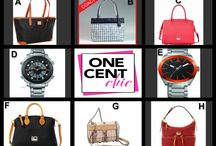 Thursday Fashion and Father's Day Auction / Great Fashion and Watch Auction tonight May 29th 9:45 PM ET @OneCentChic