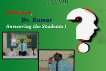 Director Dr.Kumar Answering The Students