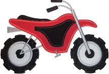 Applique - Motorbikes !
