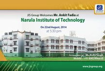 Event / JIS Group Welcomes Mr. Ankit Fadia At Narula Institute of Technology