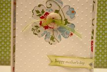 Mother's Day cards/gifts / Cards and gifts for Mother's Day using Stampin up products