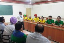 Northwest Group of Institutions is organizing World No Tobacco Day on 30th May 2015 / In this Dr. S.K. Kautish (Principal) along with HOD's and other Staff deliver a lecture to Students of Northwest Group of Institutions about health risks like (Lung Cancer, Stomach Ulcers, Heart Disease etc.) which occurs after using products containing tobacco.