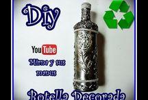 decorar botellas