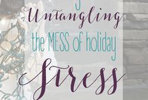 Untangling the MESS of Holiday Stress