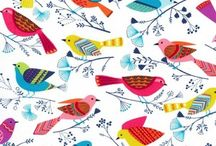 Fabric Inspiration / Lovely fabrics for use in future projects or just to adore