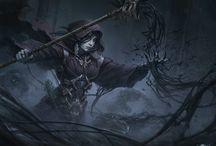 necromancer and warlock