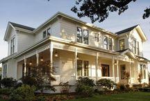 pretty homes / by Pam Foster
