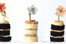 Flour for a Flower / fresh flower cake collaboration
