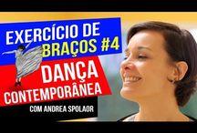EXERCÍCIOS DE BRAÇOS - DANÇA CONTEMPORÂNEA