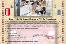 """Ruchira The Sapphire - 2/3 BHK smart house / Rychira Group presents """"Ruchira The Sapphire"""" offering 2/3 BHK smart house in NH 24 highway at just budgeted cost."""