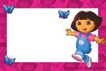 Dora invites
