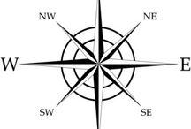 Arts & Crafts: Arrow, Direction & Map Templates 1