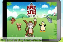 aMazing Junior Maze Game / Amazing Junior game is for your juniors to solve very intuitive mazes with different characters and lovely graphics. Download free on google play store: http://bit.ly/KidsMazeGame