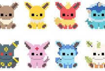 Pokemon cross-stitch patterns