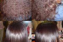 cabelos alisamento natural