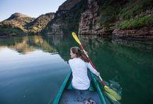 Kayaking experience / Kayak at Mtentu Lodge.