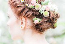 Blumen Haarschmuck