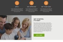 Loan landing pages